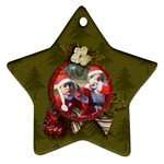 Ornament (Two Sides): Star5 - Star Ornament (Two Sides)