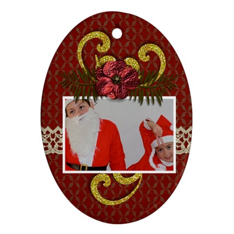 Ornament: Oval3 By Jennyl   Ornament (oval)   Qsok79hv3lav   Www Artscow Com Front