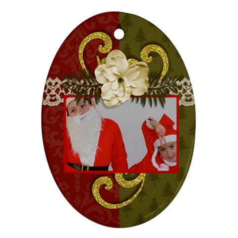 Ornament: Oval4 By Jennyl   Ornament (oval)   Vrgvxqn7zdpw   Www Artscow Com Front