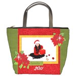 Christmas/Holiday-Bucket Bag