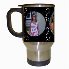 Diamond Sparkle Travel Mug By Kim Blair Left