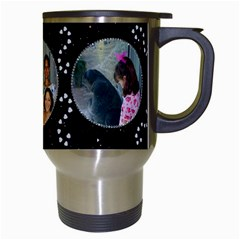 Diamond Sparkle Travel Mug By Kim Blair Right