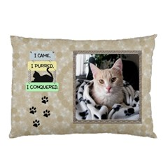 My Cats 2 Sided Pillow Case By Lil    Pillow Case (two Sides)   Tnt05fm1hxwr   Www Artscow Com Front