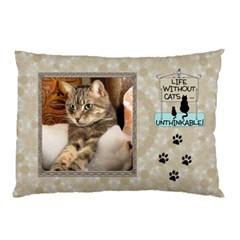 My Cats 2 Sided Pillow Case By Lil    Pillow Case (two Sides)   Tnt05fm1hxwr   Www Artscow Com Back
