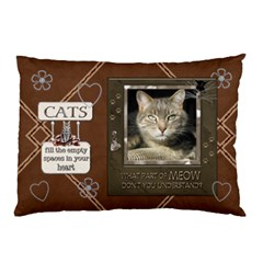 Cats 2 Sided Pillow Case By Lil    Pillow Case (two Sides)   Kooybgk9lpo5   Www Artscow Com Front