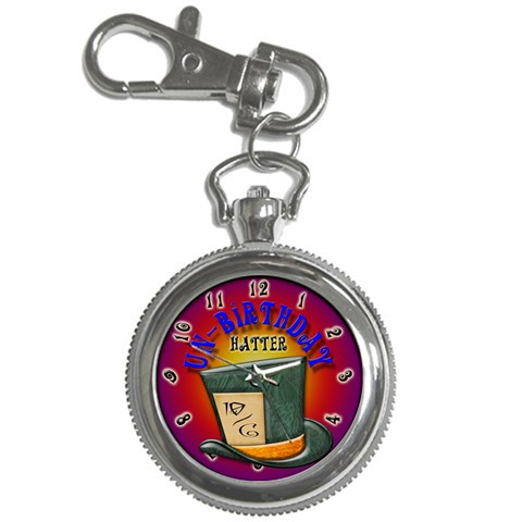 Mad Hatter By Timm Miller   Key Chain Watch   Hlrxq9fu0hja   Www Artscow Com Front