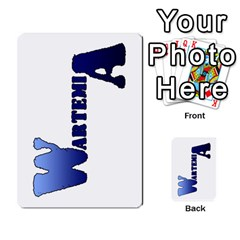 Wartemia2 By Pierre   Multi Purpose Cards (rectangle)   Xzy9tl6butdg   Www Artscow Com Back 51