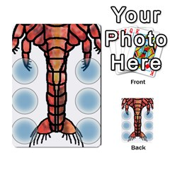 Wartemia2 By Pierre   Multi Purpose Cards (rectangle)   Xzy9tl6butdg   Www Artscow Com Back 43