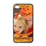halloween - Apple iPhone 4 Case (Black)