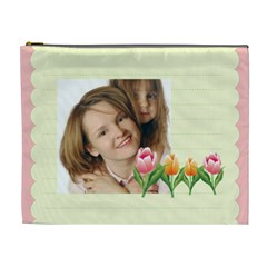 Flowers Kids By Wood Johnson   Cosmetic Bag (xl)   129nzc3apspa   Www Artscow Com Front
