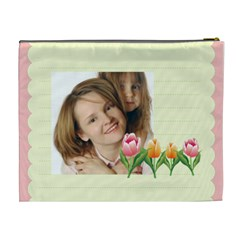 Flowers Kids By Wood Johnson   Cosmetic Bag (xl)   129nzc3apspa   Www Artscow Com Back