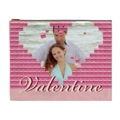 Valentine By Wood Johnson   Cosmetic Bag (xl)   Abz9hy2sixnj   Www Artscow Com Front