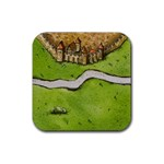 Carcassonne - Rubber Coaster (Square)