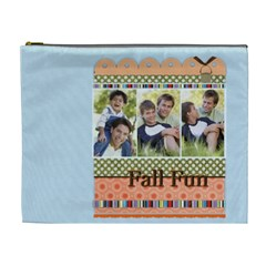 Fall Fun By Joely   Cosmetic Bag (xl)   Ouo68rw5mrj4   Www Artscow Com Front