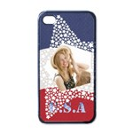 usa - Apple iPhone 4 Case (Black)