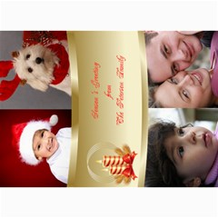 Seasons Greetings Photo Card 5x7 By Deborah   5  X 7  Photo Cards   Qzvg33o0ayno   Www Artscow Com 7 x5 Photo Card - 5