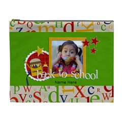 Cosmetic Bag (xl)   Back To School By Jennyl   Cosmetic Bag (xl)   5d51bh1lzxlr   Www Artscow Com Front