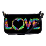 Love Tie Dye Cluch Bag - Shoulder Clutch Bag