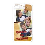 back to school - Apple iPhone 4 Case (White)