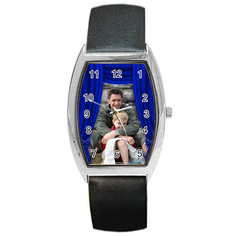 Our Production Watch By Deborah   Barrel Style Metal Watch   3bj4g2b0xxj2   Www Artscow Com Front