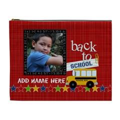 Cosmetic Bag (xl)  Back To School 2 By Jennyl   Cosmetic Bag (xl)   Ocbcvgiamh2y   Www Artscow Com Front