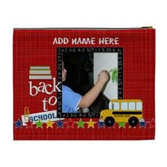 Cosmetic Bag (xl)  Back To School 2 By Jennyl   Cosmetic Bag (xl)   Ocbcvgiamh2y   Www Artscow Com Back