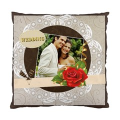 Wedding By Joely   Standard Cushion Case (two Sides)   Wruae72zlopk   Www Artscow Com Back
