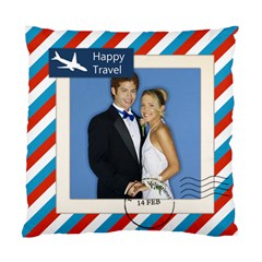 Happy Travel By Joely   Standard Cushion Case (two Sides)   On5v8d0txrga   Www Artscow Com Front