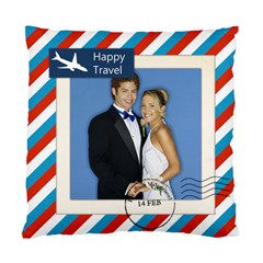 Happy Travel By Joely   Standard Cushion Case (two Sides)   On5v8d0txrga   Www Artscow Com Back