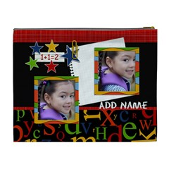 Cosmetic Bag (xl)   Back To School 8 By Jennyl   Cosmetic Bag (xl)   Zah4vh5axb23   Www Artscow Com Back