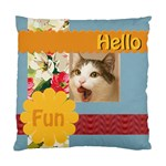 hello pet - Standard Cushion Case (Two Sides)