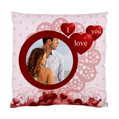 I Love You By Wood Johnson   Standard Cushion Case (two Sides)   7u17idxmeyd8   Www Artscow Com Front