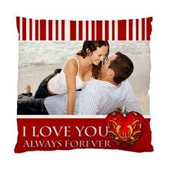 I Love You By Wood Johnson   Standard Cushion Case (two Sides)   Bv5p9p97lv0l   Www Artscow Com Front