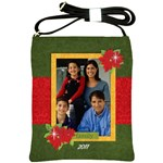 Christmas/Family- Sling Bag - Shoulder Sling Bag