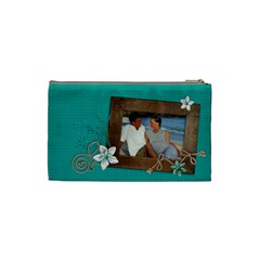 Beach/vacation Cosmetic Bag (s)  By Mikki   Cosmetic Bag (small)   6wvvaff153sj   Www Artscow Com Back