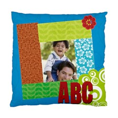 Abc Kids By Joely   Standard Cushion Case (two Sides)   1t2e95rdoo7i   Www Artscow Com Back