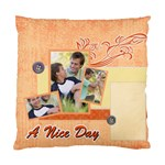 a nice day - Cushion Case (Two Sides)