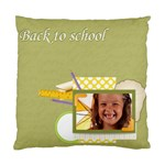happy to school - Cushion Case (Two Sides)