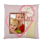 girl - Cushion Case (Two Sides)