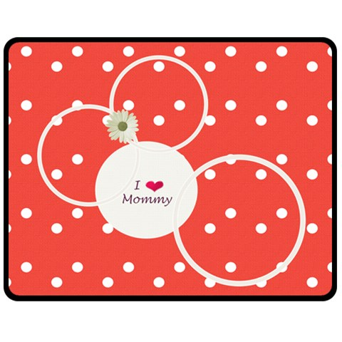 Love Mommy Medium Blanket By Daniela   Fleece Blanket (medium)   9rb0cetd8tp7   Www Artscow Com 60 x50 Blanket Front