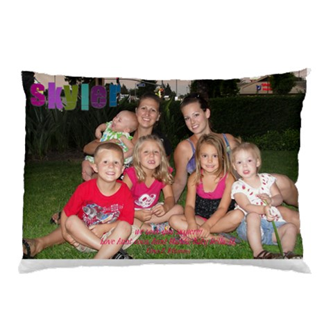 Sky By Nicole   Pillow Case   38lseb95kzh2   Www Artscow Com 26.62 x18.9 Pillow Case