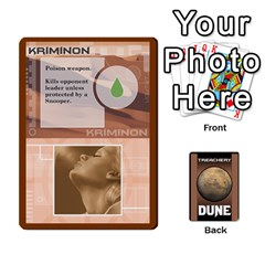 Dune Treachery By Matt   Playing Cards 54 Designs   E5sdh435g9ew   Www Artscow Com Front - Heart2
