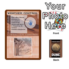 Dune Treachery By Matt   Playing Cards 54 Designs   E5sdh435g9ew   Www Artscow Com Front - Diamond10