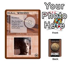 Dune Treachery By Matt   Playing Cards 54 Designs   E5sdh435g9ew   Www Artscow Com Front - Club2