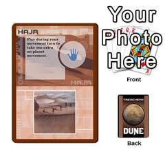 Dune Treachery By Matt   Playing Cards 54 Designs   E5sdh435g9ew   Www Artscow Com Front - Club4