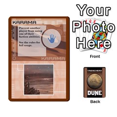 Dune Treachery By Matt   Playing Cards 54 Designs   E5sdh435g9ew   Www Artscow Com Front - Club5