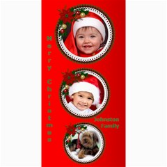 Merry Christmas 4x8 Photo Card 2 By Deborah   4  X 8  Photo Cards   0qhih2ivz0nt   Www Artscow Com 8 x4 Photo Card - 1