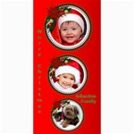 Merry Christmas 4x8 Photo Card 2 - 4  x 8  Photo Cards