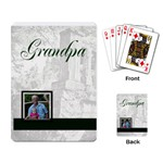 Grandpa Cards - Playing Cards Single Design