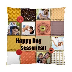 Happy Season By Joely   Standard Cushion Case (two Sides)   J22zilag8big   Www Artscow Com Back